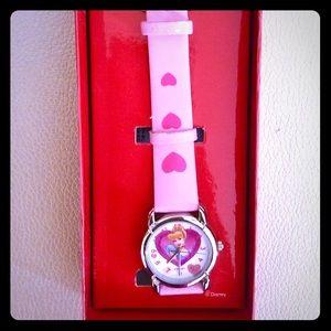 🆕 Disney Pink Cinderella girls watch gift 🎁